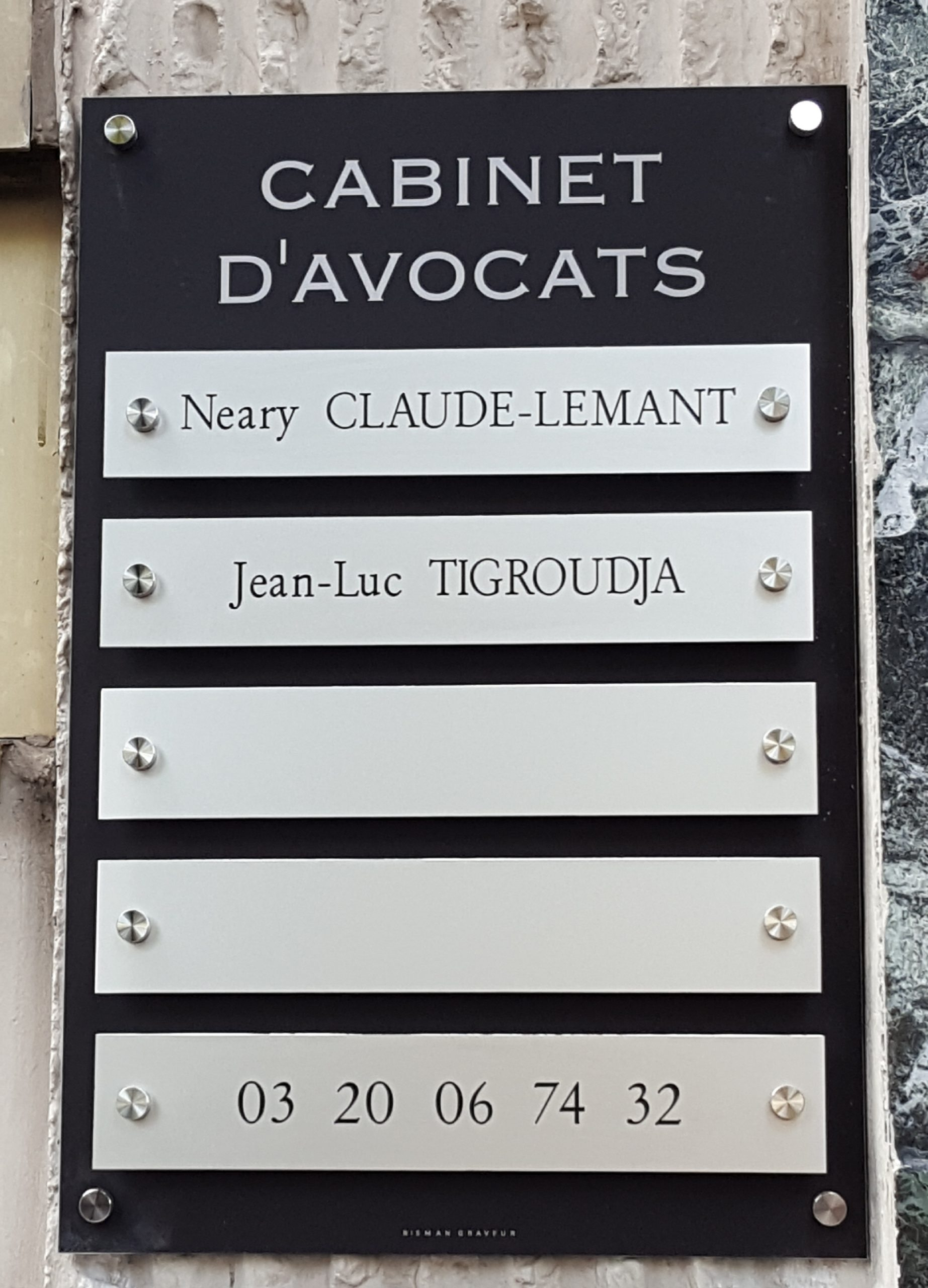 Neary CLAUDE-LEMANT Avocat Lille